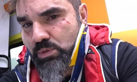 Θύμα δολοφονικής επίθεσης ο Νάσος Γουμενίδης (video+pics)