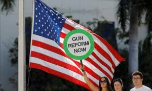 ΗΠΑ: Χιλιάδες μαθητές, φοιτητές και καθηγητές διαδηλώνουν εναντίον των πυροβόλων όπλων