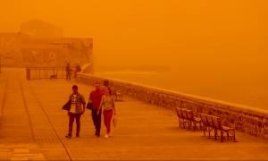 Καιρός: Νέο «κύμα» αφρικανικής σκόνης -  Βροχές, νοτιάδες και χιόνια στα ορεινά