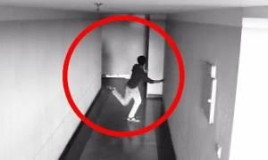 Όταν οι κάμερες ασφαλείας καταγράφουν κινήσεις που δείχνουν... φαντάσματα (Video)