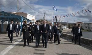 Τσίπρας: Η Ελλάδα είναι σε θέση να υπερασπιστεί ανά πάσα στιγμή την κυριαρχία της