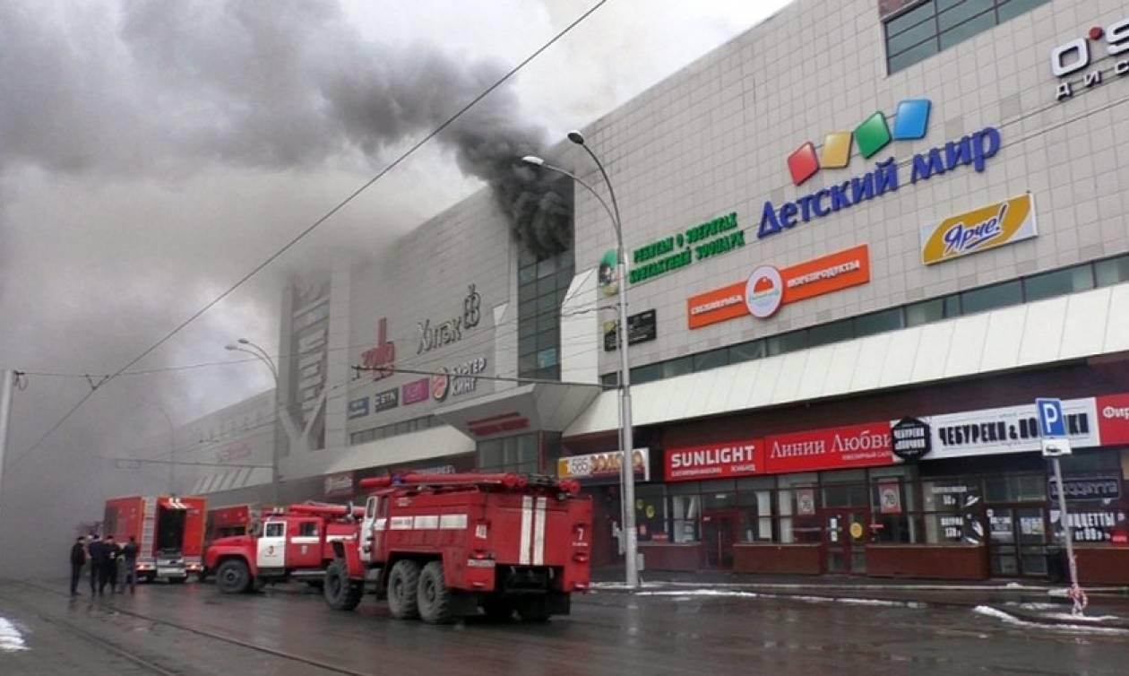Τραγωδία στη Ρωσία: Δεκάδες νεκροί από πυρκαγιά σε εμπορικό κέντρο (pics+vids)