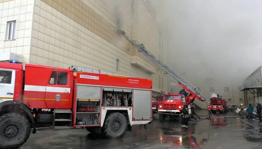 Τραγωδία στη Ρωσία - Φονική πυρκαγιά σε εμπορικό κέντρο (pics+vids)