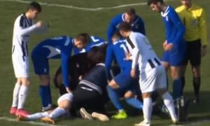 Βίντεο – σοκ: Η στιγμή που 25χρονος ποδοσφαιριστής πεθαίνει μέσα στο γήπεδο