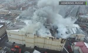 Κόλαση φωτιάς στη Ρωσία: Συγκλονιστικό βίντεο από το πύρινο «φέρετρο» του Κεμέροβο