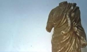 Άγαλμα της θεάς Υγείας προσπάθησαν να πουλήσουν αρχαιοκάπηλοι στη Σπάρτη: Εικόνες - ντοκουμέντο