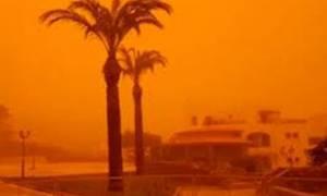 Песчаная буря на Кипре: допустимый уровень содержания микрочастиц в воздухе превышен в три раза