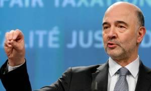 Τελεσίγραφο Μοσκοβισί για συμφωνία ΔΝΤ - Θεσμών σχετικά με την ελληνική οικονομία