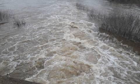 Σε κατάσταση συναγερμού ο Έβρος: Πάνω από το όριο η στάθμη του νερού