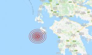 Σεισμός κοντά στη Ζακύνθο (pic)
