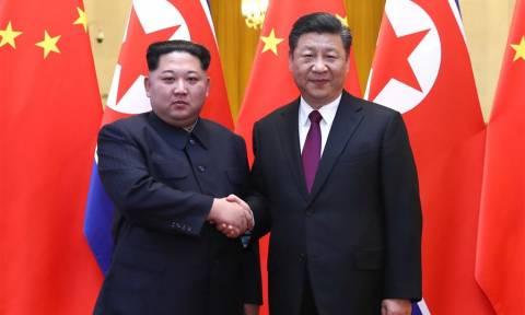 Κίνα: Ολοκληρώθηκε η επίσκεψη του Κιμ Γιονγκ Ουν στο Πεκίνο (pics)