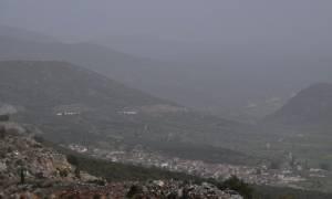 Καιρός τώρα: Επιμένει και την Τετάρτη η αφρικανική σκόνη - Πού θα σημειωθούν βροχές (pics)