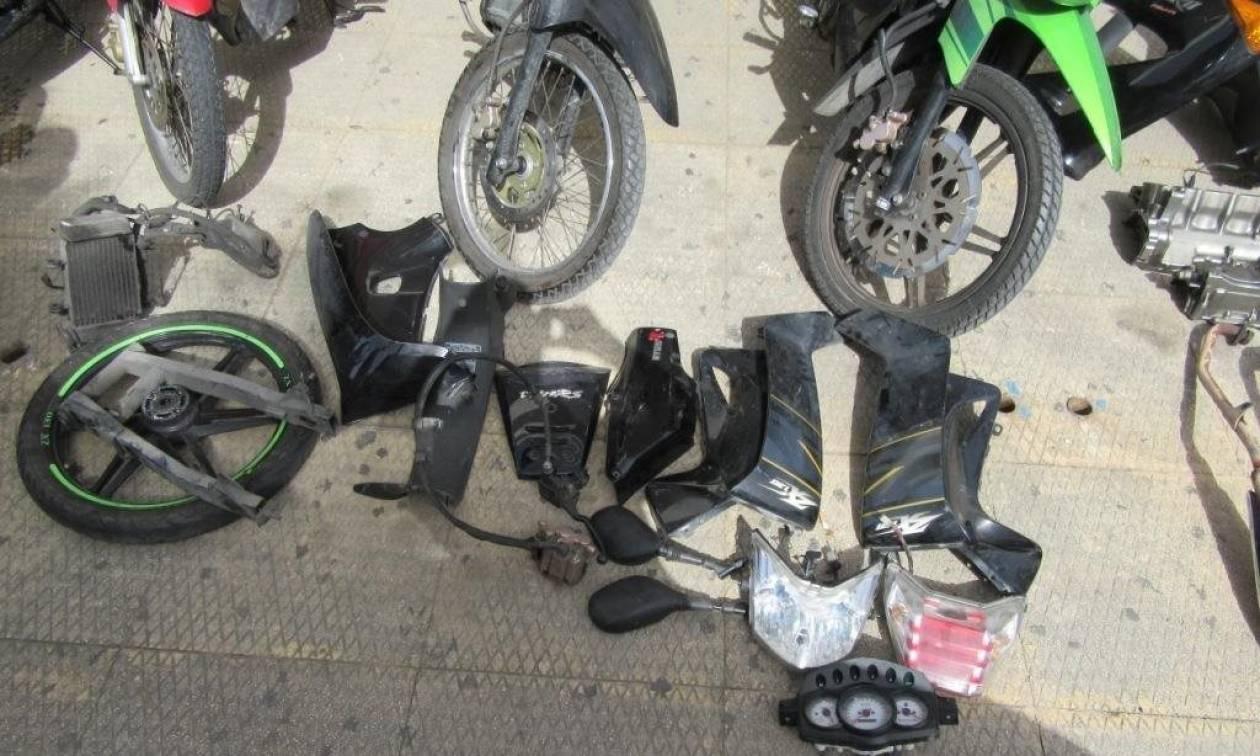 Αυτά είναι τα μέλη της συμμορίας που έκλεβε μοτοσικλέτες στη δυτική Αττική (pics)