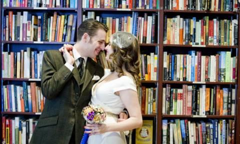 Αυτή και αν είναι νέα μόδα! - Γάμοι σε... βιβλιοπωλεία