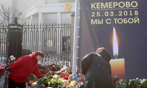 Ρωσία: Συλλήψεις για τη φονική πυρκαγιά στο εμπορικό κέντρο