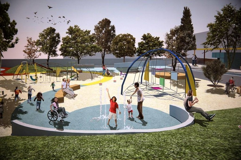 Τη δημιουργία πάρκου ΑμεΑ στο δήμο Θεσσαλονίκης αλλά και σχολείων ανακοίνωσε ο Αλέξης Τσίπρας