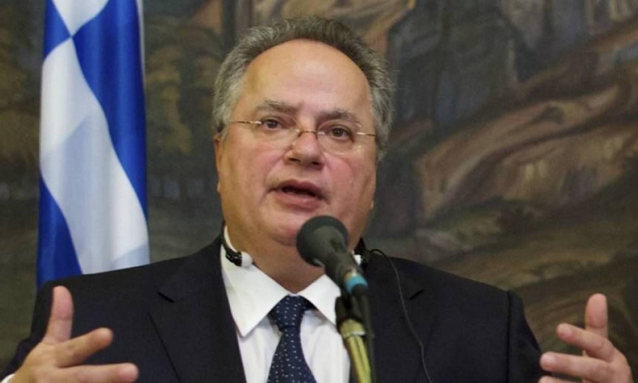 Σκοπιανό: Την επόμενη εβδομάδα θα ενημερώσει ο Κοτζιάς του πολιτικούς αρχηγούς