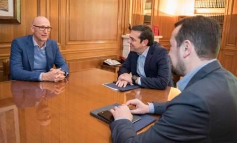 Τσίπρας: Ψήφος εμπιστοσύνης στην Ελλάδα από την Deutsche Telekom με επένδυση 2 δισ. ευρώ