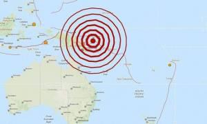 Ισχυρή σεισμική δόνηση 7 Ρίχτερ στην Παπούα Νέα Γουινέα
