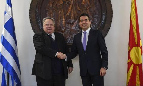 «Ώρα μηδέν» για το Σκοπιανό: Κρίσιμη συνάντηση Κοτζιά με Νίμιτς και Ντιμιτρόφ