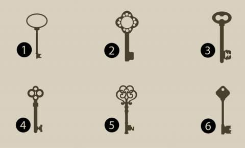 Ποιο από αυτά τα κλειδιά θα επέλεγες; Η απάντησή σου φανερώνει πολλά για τον χαρακτήρα σου!