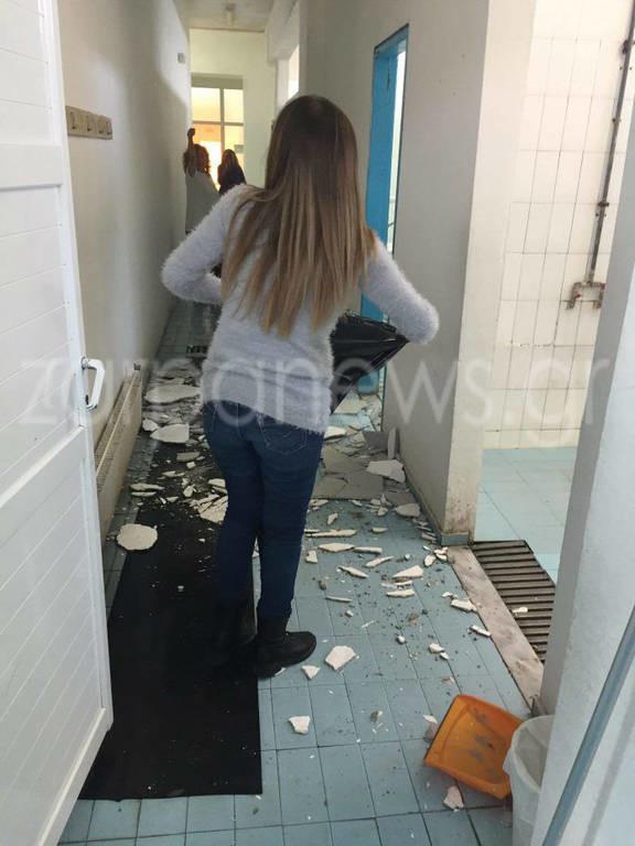 Πανικός στα Χανιά: Κατέρρευσε οροφή κολυμβητηρίου γεμάτο με παιδιά (pics)