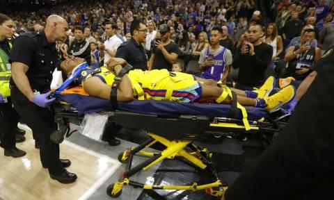 NBA: Σοκ με τον σοβαρό τραυματισμό ΜακΚάου! (vids)