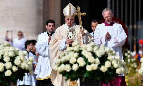 Έκκληση του πάπα Φραγκίσκου να σταματήσει ο αφανισμός στη Συρία