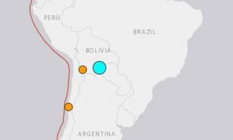 Ισχυρός σεισμός 6,6 Ρίχτερ συγκλόνισε τη Βολιβία