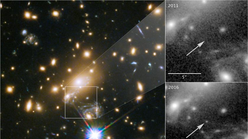 Το τηλεσκόπιο Hubble φωτογράφισε το πιο μακρινό άστρο μέχρι σήμερα!