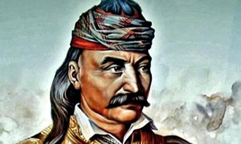 Σαν σήμερα το 1770 γεννήθηκε ο ηγέτης της ελληνικής επανάστασης, Θεόδωρος Κολοκοτρώνης