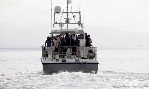 Εντοπισμός και διάσωση 58 προσφύγων στη Σάμο