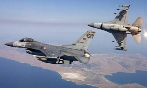 Εικονική αερομαχία ελληνικών και τουρκικών μαχητικών πάνω από το Αιγαίο