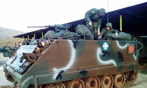 Τα τεθωρακισμένα του Στρατού «βγήκαν» στην Ήπειρο