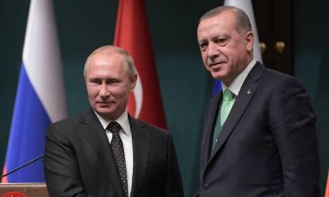 Ο Βλαντιμίρ Πούτιν μεταβαίνει στην Τουρκία για να συναντηθεί με τον Ερντογάν
