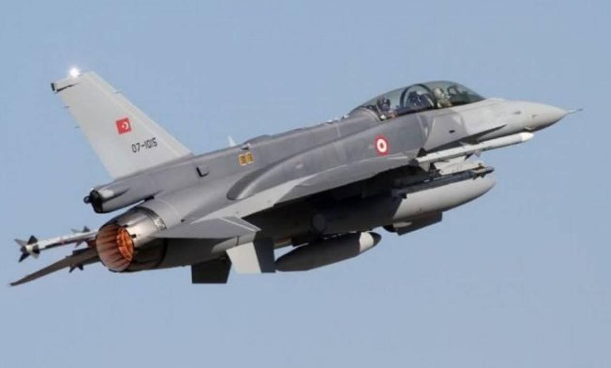«Τσαμπουκάδες» από τους Τούρκους: Τουρκικό F-16 πάνω από το Φαρμακονήσι