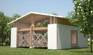 uBox: Το φορητό σπίτι που χτίζεται σε λιγότερο από... δέκα λεπτά