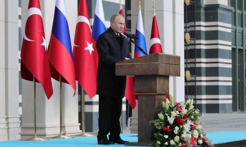 Πούτιν: Προτεραιότητά μας η παράδοση των S-400 στην Άγκυρα
