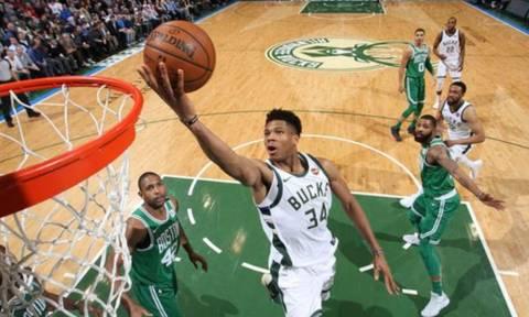 NBA: Τα μαγικά Αντετοκούνμπο με Σέλτικς (vid)