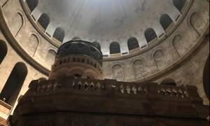 Στους τόπους των Παθών του Ιησού - Δείτε τον Γολγοθά και τον Πανάγιο Τάφο στην Ιερουσαλήμ (video)