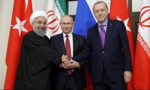 Σύνοδος Άγκυρας: Ο Ροχανί ζήτησε από τον Ερντογάν να παραδώσει το Αφρίν στο συριακό στρατό