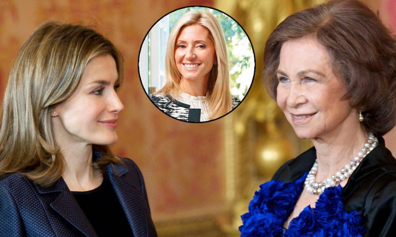 Οργή της Μαρί Σαντάλ για τον τρόπο που φέρθηκε η Βασίλισσα της Ισπανίας στην Ελληνίδα πεθερά της