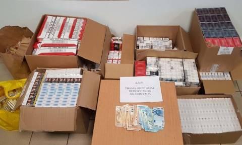 Θεσσαλονίκη: Σύλληψη 57χρονης - Είχε πάνω από 2.500 πακέτα λαθραία τσιγάρα