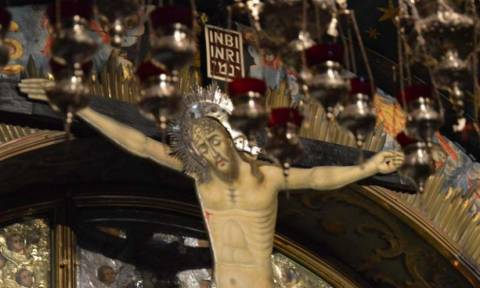 Οι μαρτυρικές στιγμές του Ιησού στον Γολγοθά - Φωτογραφίες από τον τόπο της Σταύρωσης