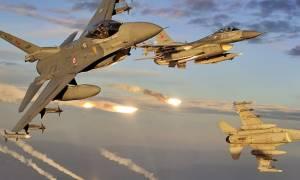 «Φωτιά» στο Αιγαίο: Δύο εικονικές αερομαχίες από οπλισμένα τουρκικά μαχητικά