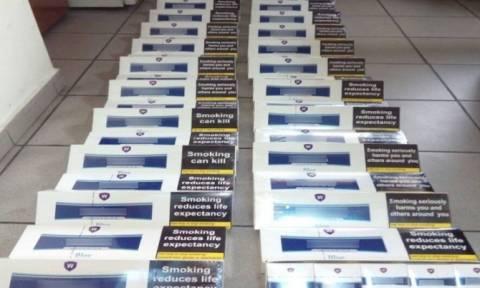 Σέρρες: Τρεις συλλήψεις στον Προμαχώνα για λαθραία τσιγάρα και ποτά