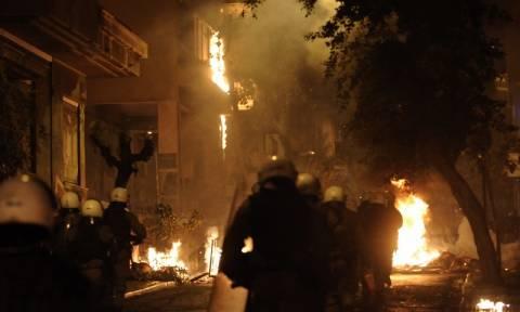 Και πάλι επεισόδια στο κέντρο της Αθήνας