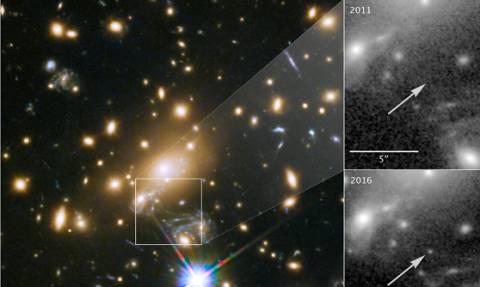 Με ελληνικό όνομα το πιο μακρινό άστρο που ανακάλυψαν οι επιστήμονες