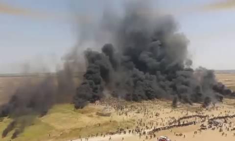 Βίντεο – ΣΟΚ: Ισραηλινοί πυροβολούν στα «τυφλά» - Νεκροί 8 διαδηλωτές και ένας δημοσιογράφος