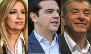 Ο Τσίπρας, η Φώφη, ο Σταύρος και τα σενάρια εκλογών